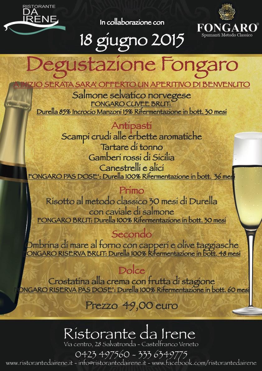 Metodo Classico cantina Fongaro