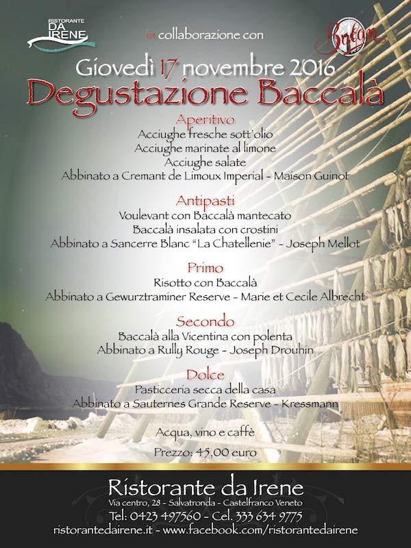degustazione baccalà 2016