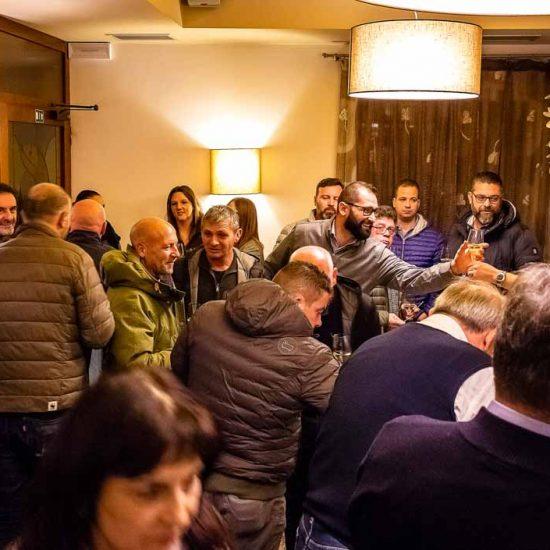 Aperitivo di benvenuto degustazione Baccalà 2019