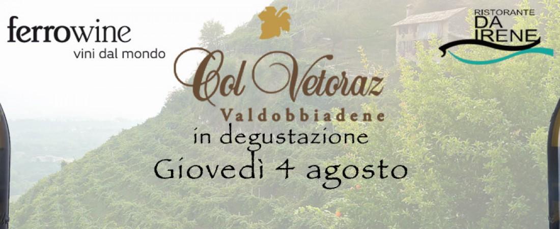 Prosecco Col Vetoraz in degustazione