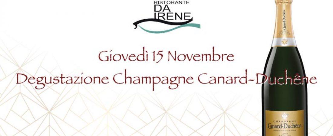 Degustazione Champagne Canard-Duchêne
