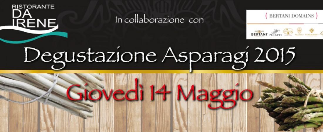 Degustazione Asparagi 2015