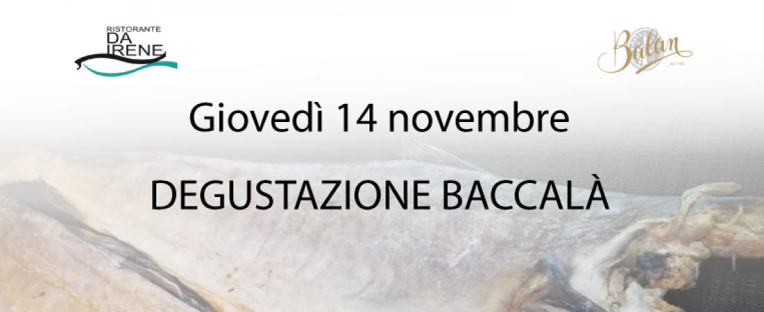 Degustazione Baccalà 2019