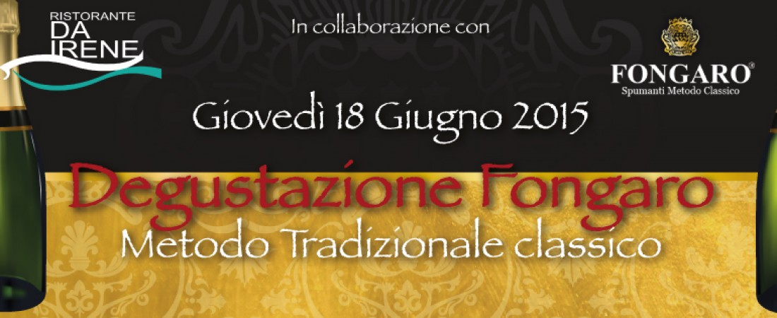 Metodo Classico Fongaro Degustazione 2015