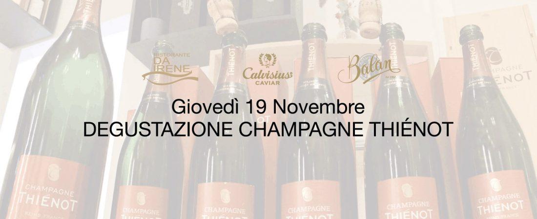 Serata Champagne Thiénot