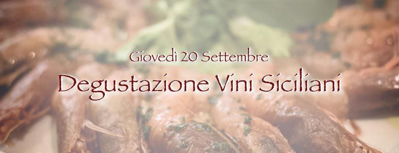 Degustazione Vini Siciliani